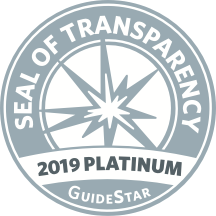 Guidestar - Seal of Transparency, 2019 Platinum