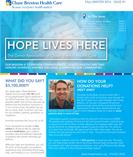 donor newsletter summer
