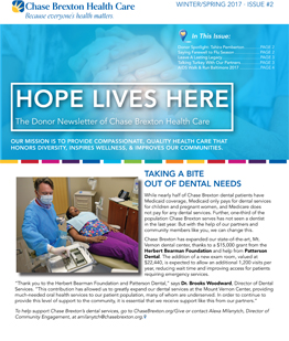 donor newsletter winter spring