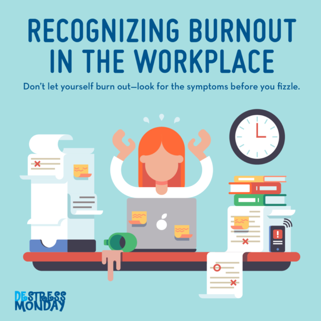 workplace burnout destress monday baltimore health care